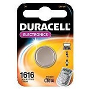 DURACELL DL1616 3V 50 MAH LITIO