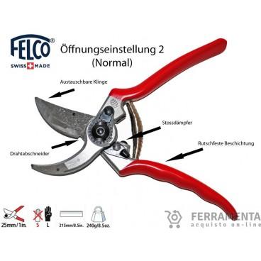 FELCO 2 FORBICE DA POTATURA 215 MM. Made in Switzerland