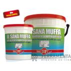 IL SANA MUFFA IDROPITTURA SUPERTRASPIRANTE LT 0,750 (DIXI IDR 101)