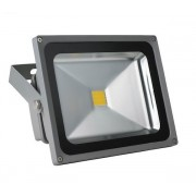 FARETTO LED VELAMP CYCLOP 30W IP65 2100 LM SILVER IS155.004S